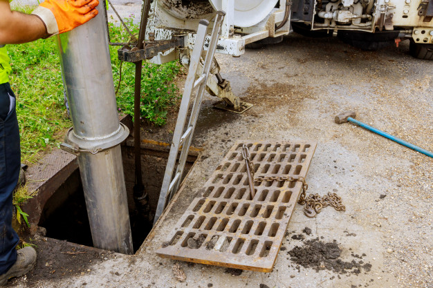 čistenie kanalizacie